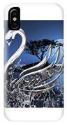 Swan Art. IPhone Case