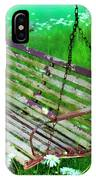 Swing In The Daisies IPhone Case