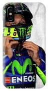 Valentino Rossi The Doctor  IPhone Case