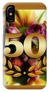 50th Anniversary IPhone Case