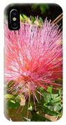 Australia - Red Caliandra Flower IPhone Case