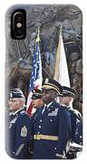 54th Regiment Bos2015_183 IPhone Case