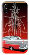 55 Chevy Pinstriping IPhone Case
