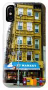 57 Market New York City IPhone Case