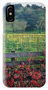 5b6301 Vineyards Of Color IPhone Case
