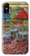 5th  Street Market Tables IPhone Case