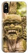 Bali Sculpture IPhone Case
