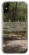 Cassadaga Spiritualist Camp In Florida IPhone Case