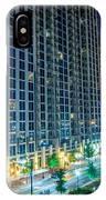 Charlotte North Carolina Skyline IPhone Case