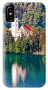 Church Of The Assumption - Lake Bled, Slovenia IPhone Case