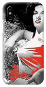 Film Homage Jane Russell The Outlaw 1943 Publicity Photo Photographer George Hurrell 2012 IPhone Case