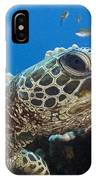 Hawaii, Green Sea Turtle IPhone Case