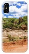 Landscape In Tanzania IPhone Case