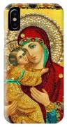 Madonna And Child Christian Art IPhone Case