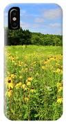 Marengo Ridge Wildflowers IPhone Case