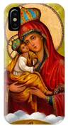Mary And Child Religious Art IPhone Case