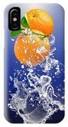 Orange Splash IPhone Case