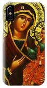 Saint Mary Christian Art IPhone Case