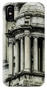 The Rhode Island State House On Capitol Hill In Providence IPhone Case