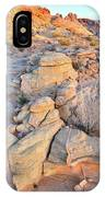Valley Of Fire Sunrise IPhone Case
