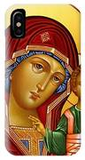 Virgin And Child Christian Art IPhone Case