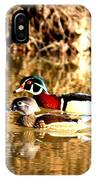 6980 - Wood Duck IPhone Case