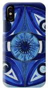 6th Mandala - Third Eye Chakra  IPhone Case