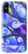 7 Birds On A Tree IPhone Case