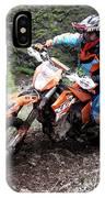 Enduro Race  IPhone Case