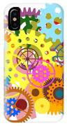 Gears Wheels Design  IPhone Case