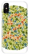 Ishihara Color Blindness Test IPhone Case