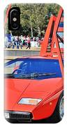 Lamborghini Countach Lp400 IPhone Case