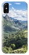 Landscape Around Kasi In North Laos IPhone Case