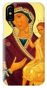 Madonna Enthroned Christian Art IPhone Case