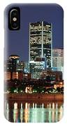 Montreal Over River At Dusk  IPhone Case