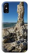 Natural Rock Formation At Mono Lake, Eastern Sierra, California, IPhone Case