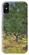 Olive Orchard IPhone Case