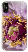 Peony Flower IPhone Case