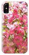Pink Cherry Flowers IPhone Case