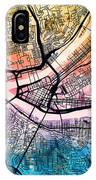Pittsburgh Pennsylvania Street Map IPhone Case