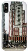 Providence Rhode Island City Skyline In October 2017 IPhone Case