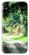Scenes At Botany Bay Plantation Near Charleston South Carolina IPhone Case