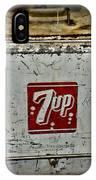 7 Up Vintage Cooler IPhone Case
