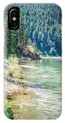 Vast Scenic Montana State Landscapes And Nature IPhone Case