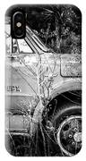Vintage Autos In Black And White IPhone Case