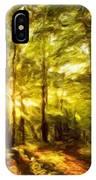 Nature Landscape Paintings IPhone Case