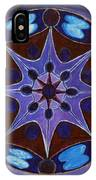 7th Mandala - Crown Chakra IPhone Case