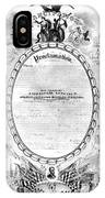 Emancipation Proclamation IPhone Case
