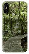 Forest Boardwalk IPhone Case