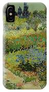 Garden At Arles IPhone Case